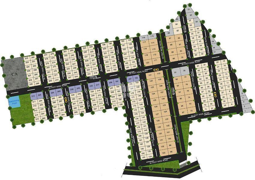 Golden 40 Acres - Master Plans