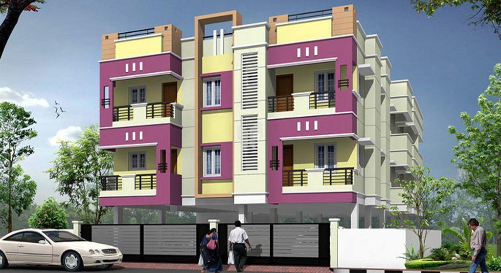 Bharathi Manish Apartments - Project Images