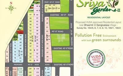 sriya-gardens-ii-in-bheemunipatnam-master-plan-esi