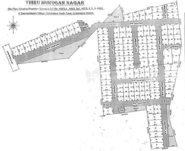 Thiru Murugan Nagar DTCP - Master Plans