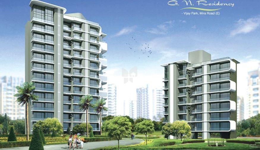 Raj GN Residency - Elevation Photo