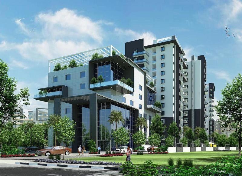 Keerthi Surya Shakthi Towers - Elevation Photo