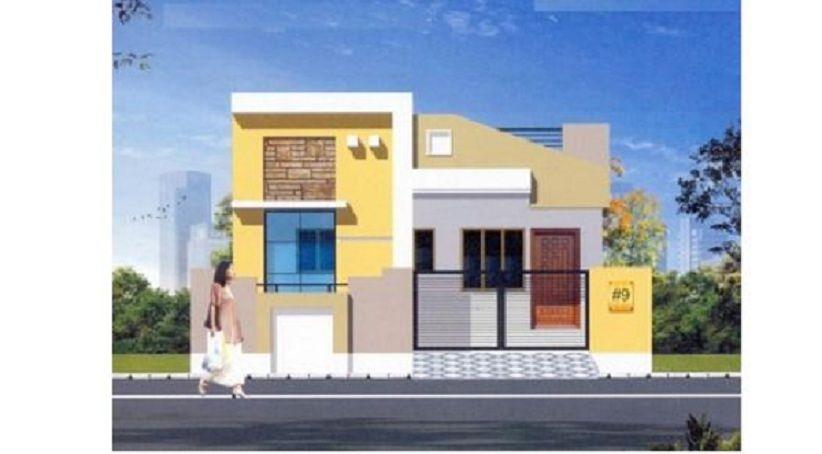 First Floor Elevation In Hyderabad : Srinivasa keerthi homes in mallampet hyderabad price