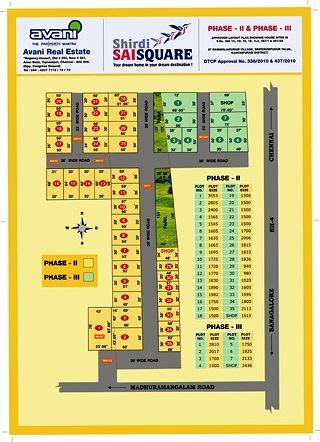 Shirdi Sai Square - Master Plans