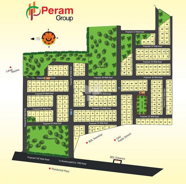 Perams Aditya Meadows - Master Plans