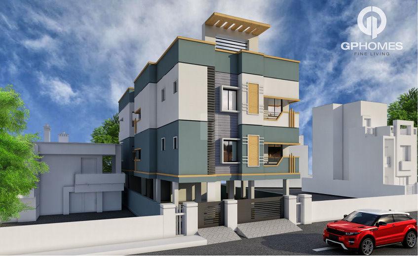 GP Homes Caspia - Elevation Photo