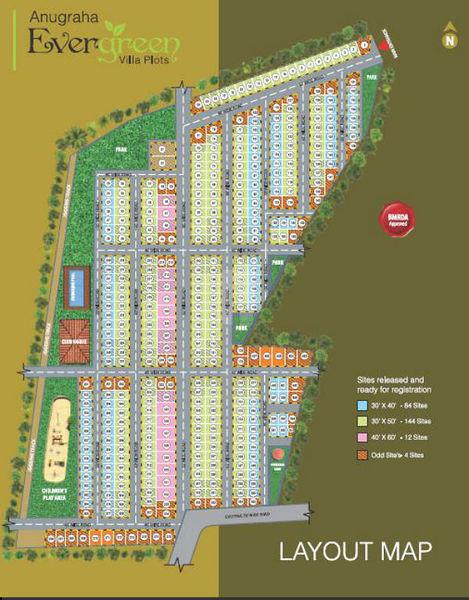 Anugraha Evergreen - Master Plans