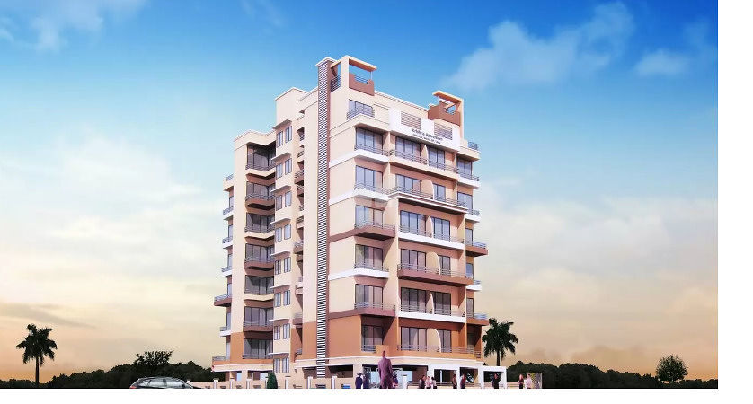 Radhe Krishna Apartment - Elevation Photo