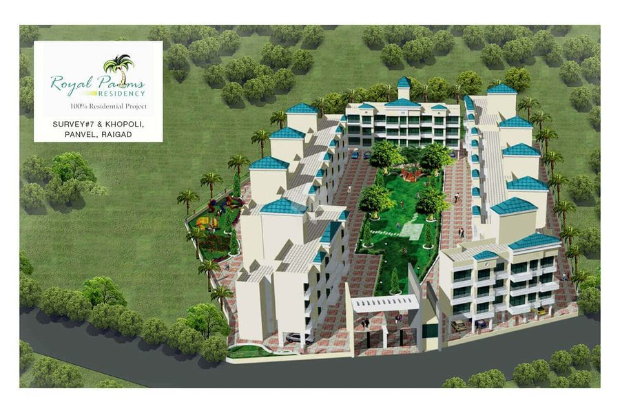 Qualcon Royal Palms Residency - Project Images