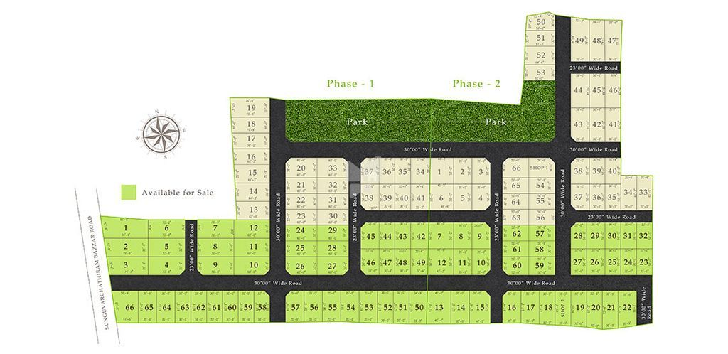 Green garden - Master Plan