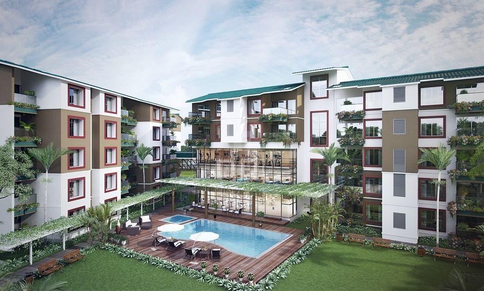 Umiya Woods Apartment - Elevation Photo