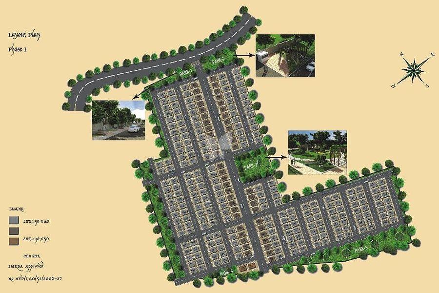 Upkar Kamakshi Layout - Master Plans