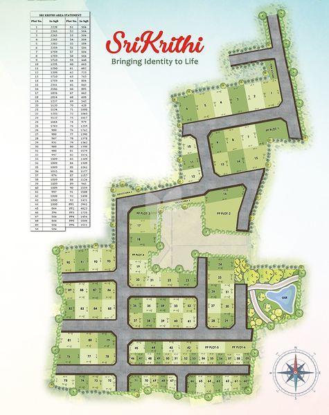 Jansen's Srikrithi - Master Plan
