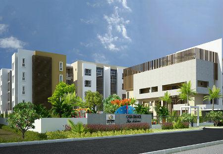 Casagrand The Address In Karapakkam Chennai Price Floor Plans - Elevation level by address