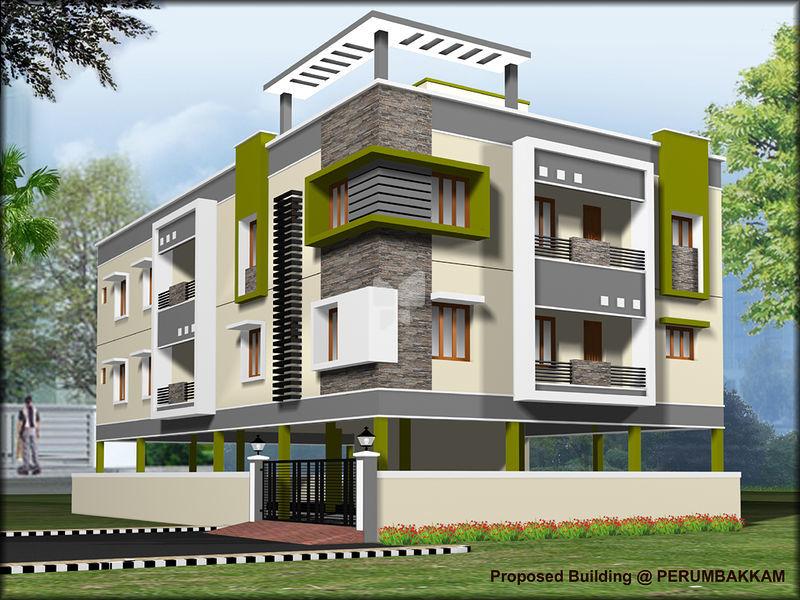 Karthikeyan Upper Crest - Elevation Photo