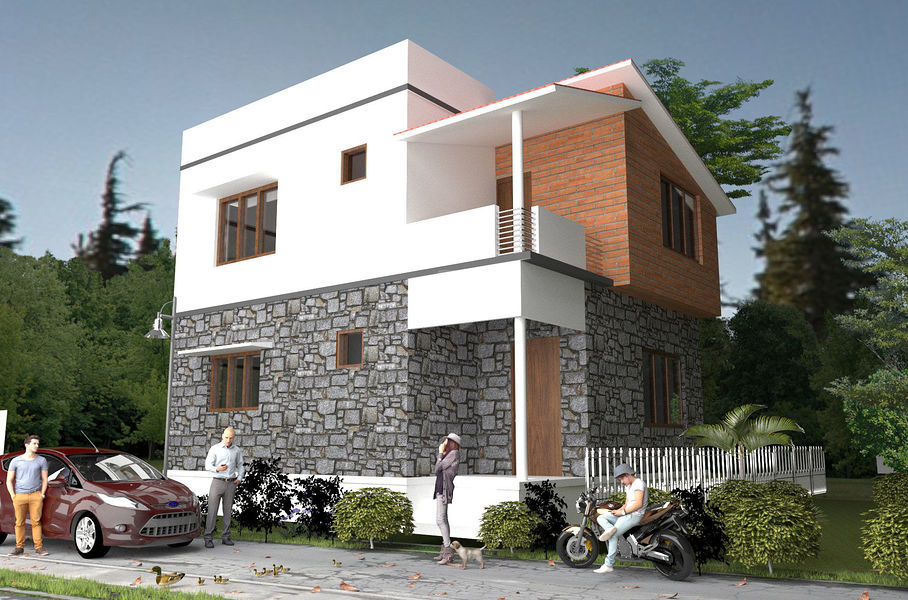 Stone House Villas - Elevation Photo