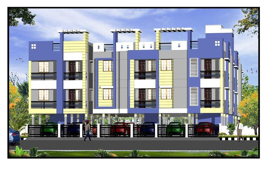 Guru Shiva & Vishnu Apartments - Elevation Photo