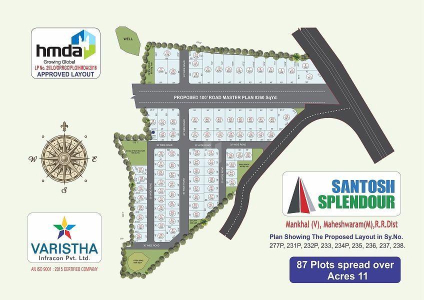 Santosh Splender - Master Plan