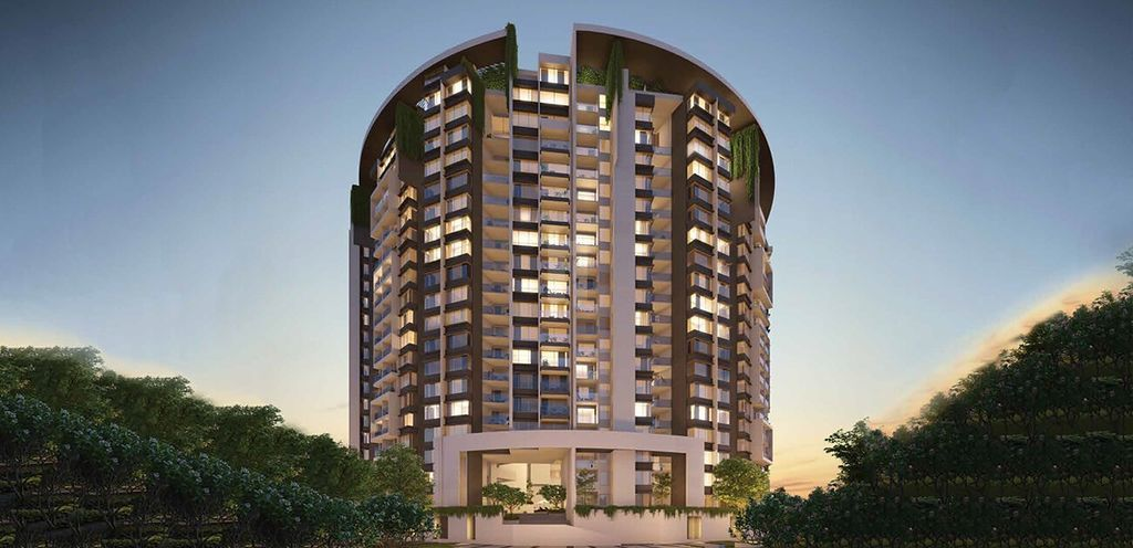 Godrej Reflections - Elevation Photo