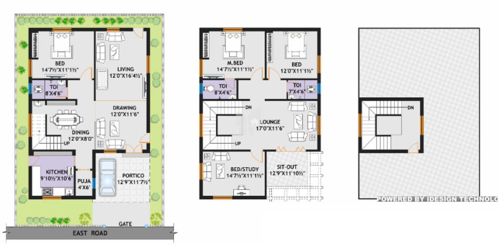 East Facing Duplex House Plans Escortsea