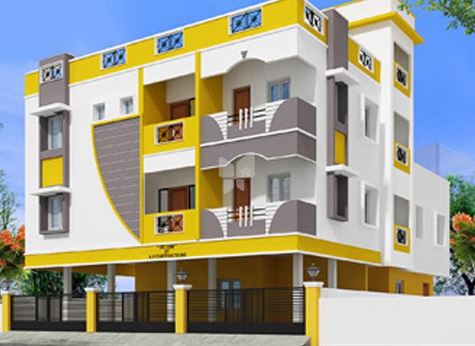 A V Selvam Flats - Project Images