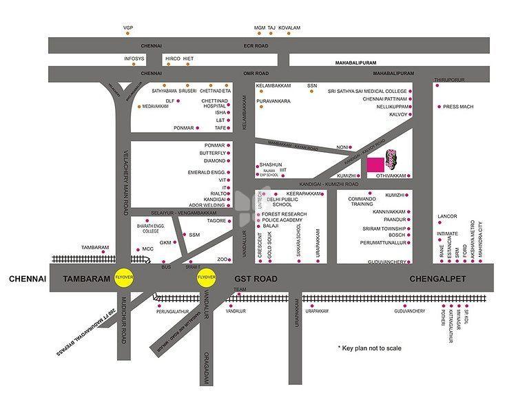 Pristine Hill Breeze Avenue - Location Maps