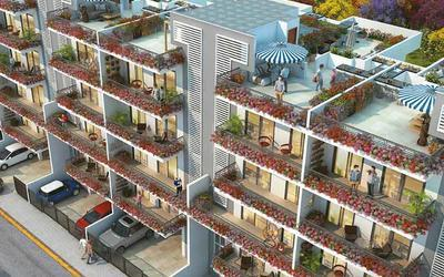 central-park-flower-valley-cerise-suites-in-sector-48-elevation-photo-1mnc