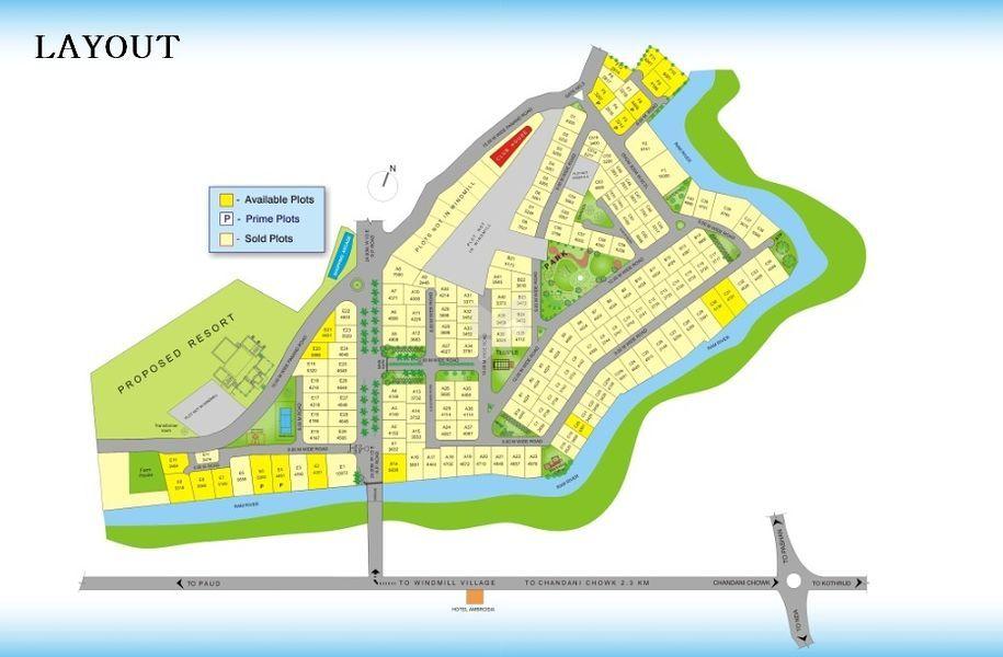 Shiv Windmill Village - Master Plans