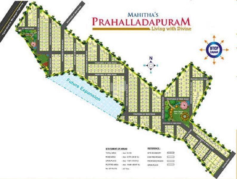 Sree Mahitha Prahalladapuram - Master Plan