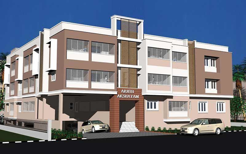 Arjith Akshayam - Elevation Photo