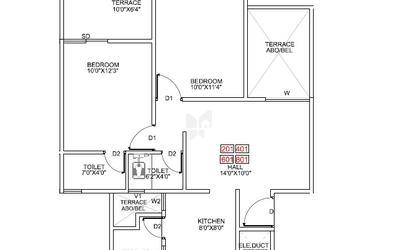 pragathi-royal-serene-in-balewadi-floor-plan-2d-1btz