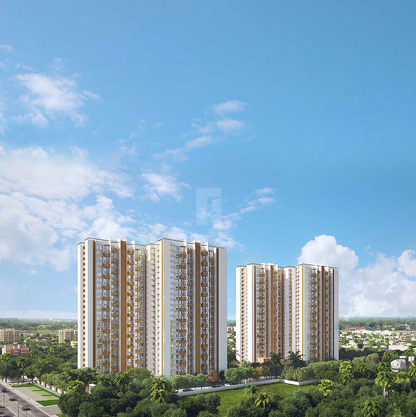 Mahindra Lifespace Windchimes Phase II - Elevation Photo