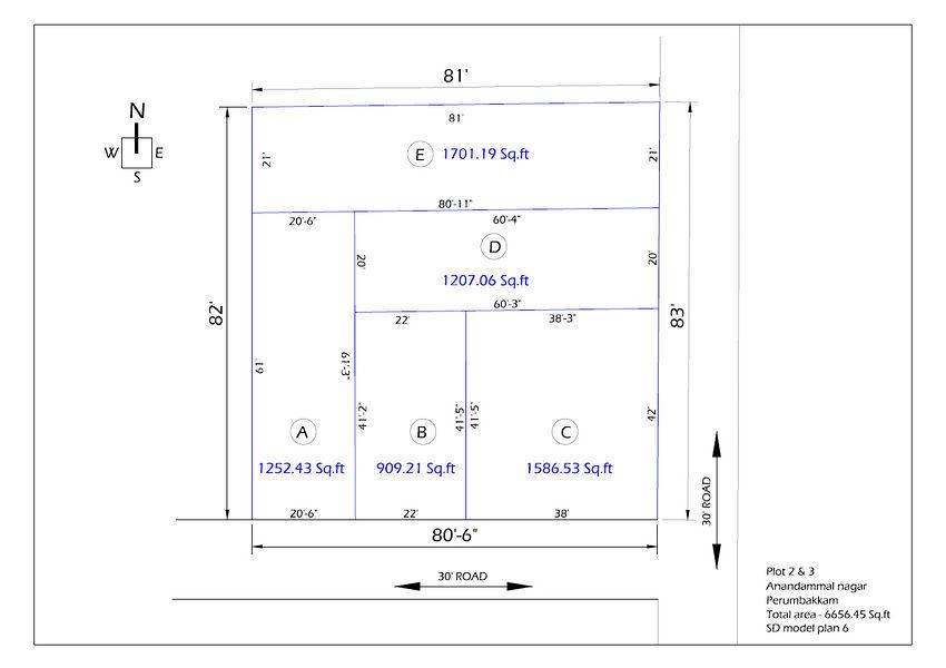 MGP Anandammal Nagar Plot 2 & 3 - Master Plans
