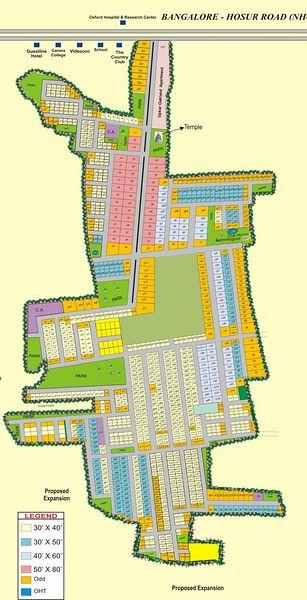 Upkar Green Fields - Master Plan