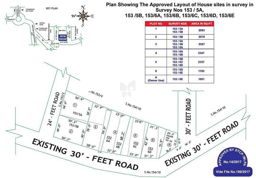 Jothi Nagar - Master Plans