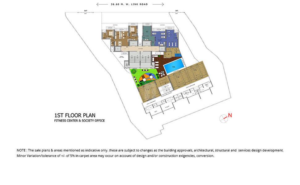 Ruparel Palacio - Floor plan