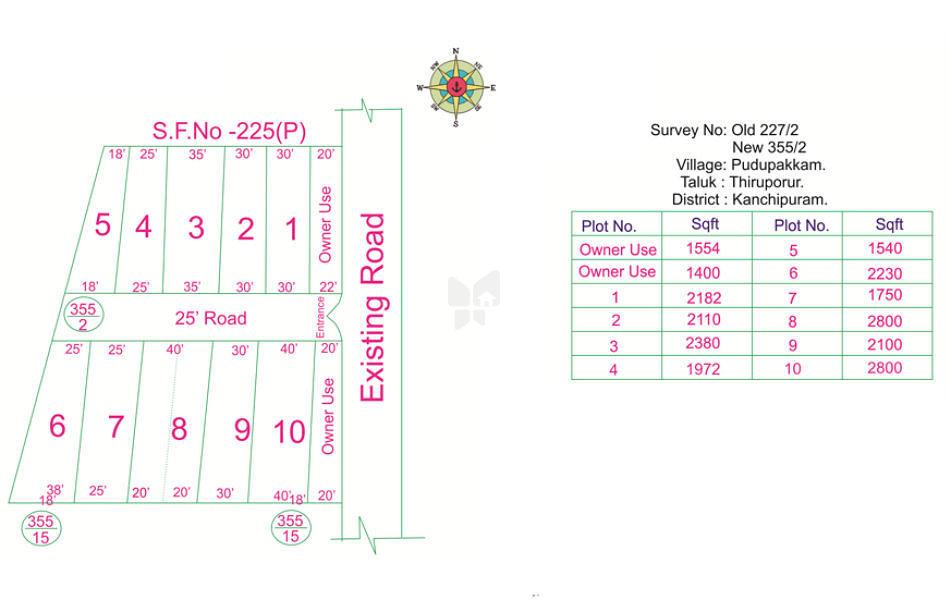 Sree Divya Sree Lakshmi Nagar - Master Plans
