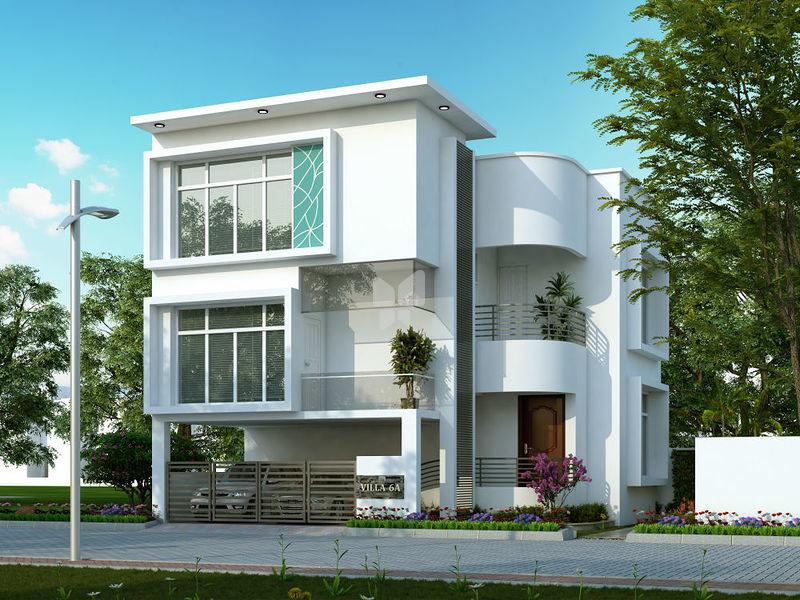Elevation | Vijay Rajau0027s Classic In Vandalur, Chennai