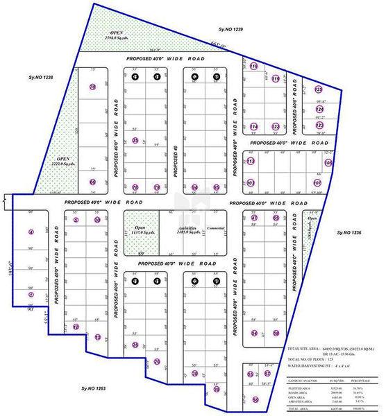 Chaitanya Vindhya Avenue - Master Plans
