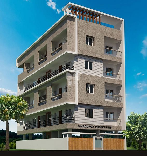 Third Floor Elevation : Shivadurga happy homes in banashankari rd stage