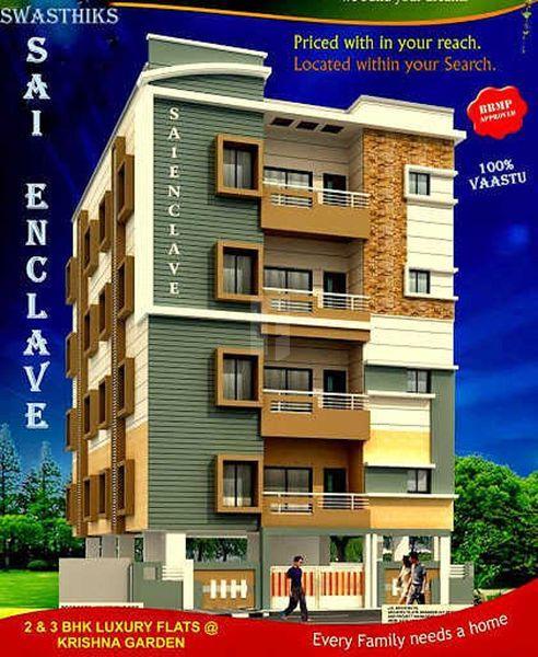 Swasthik Sai Enclave - Elevation Photo