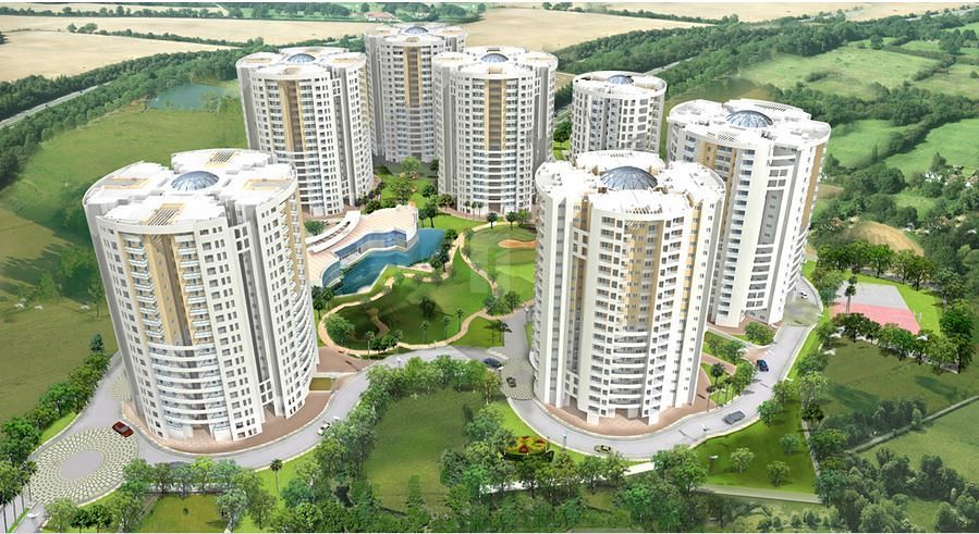 Jains Inseli park - Elevation Photo