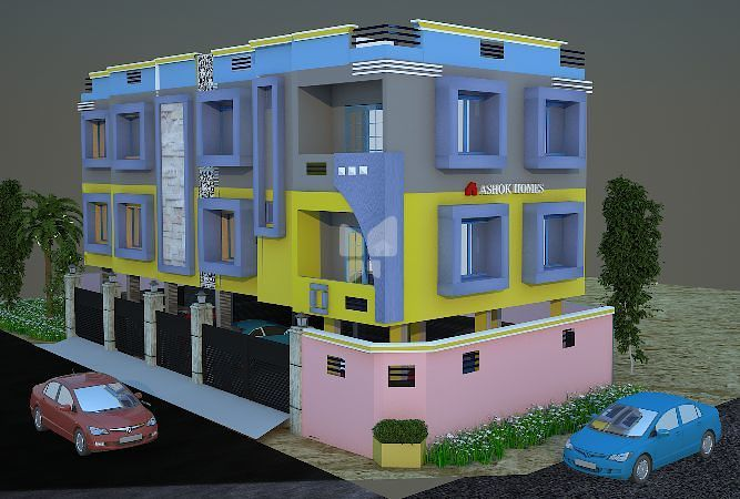 SS Ashok Homes - Elevation Photo