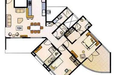 platinum-towers-in-wakad-floor-plan-2d-193h