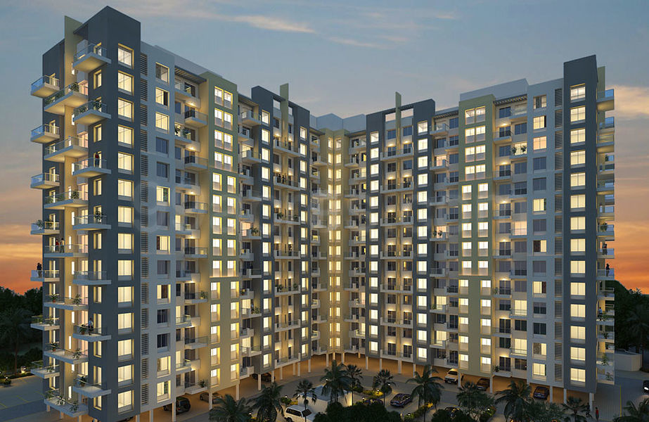 Kool Homes Panchamrut Apartment - Elevation Photo