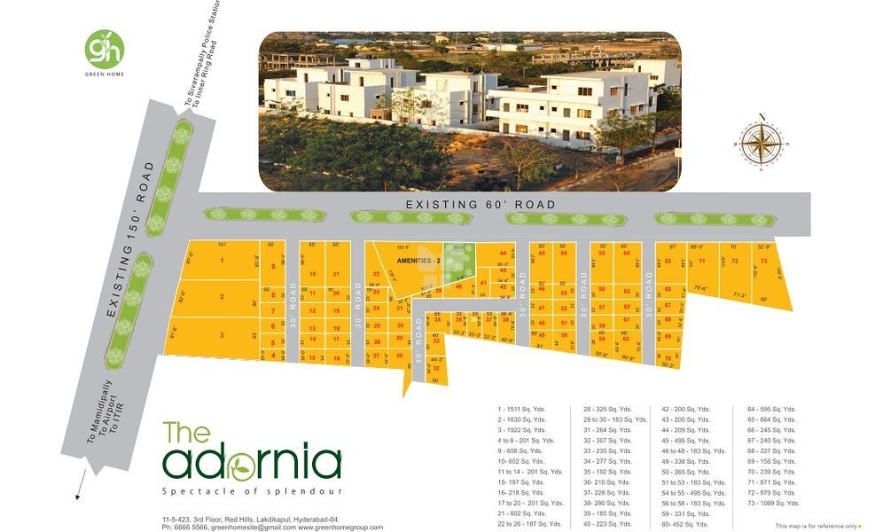 Green Home The Adornia - Master Plan