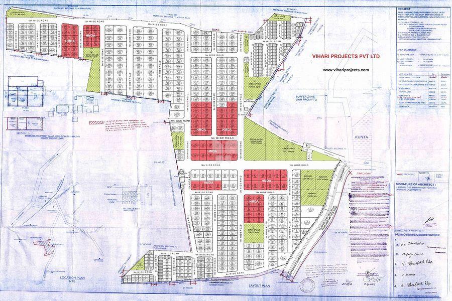 Vihari Green Way - Master Plan
