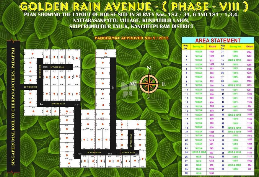 ABS Golden Rain Avenue Phase VIII - Master Plans