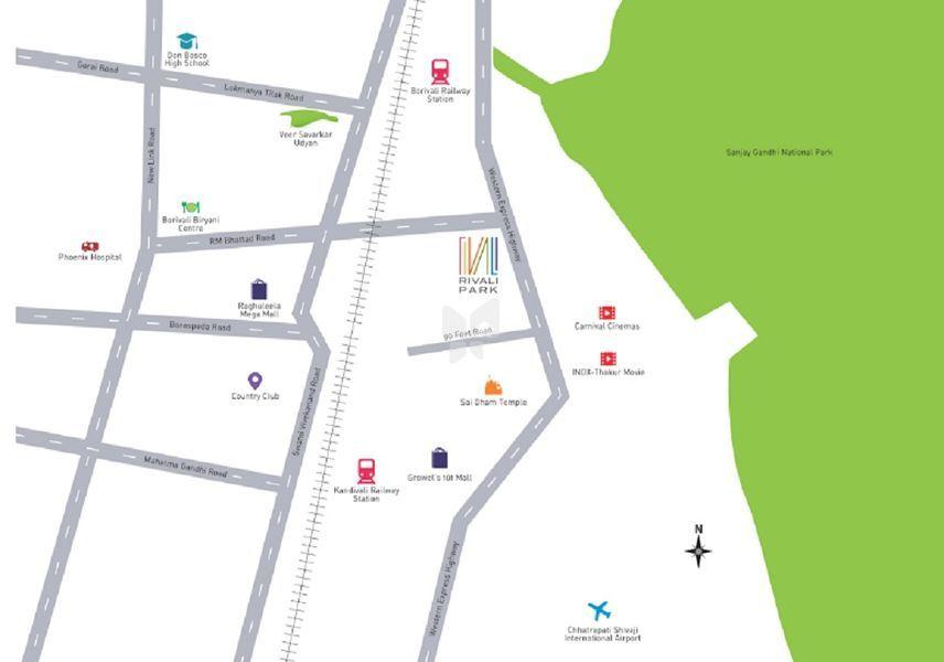 g corp rivali park in borivali west mumbai price floor plans photos at roofandfloor. Black Bedroom Furniture Sets. Home Design Ideas