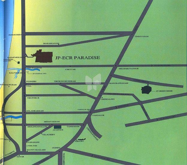 JP ECR Paradise - Location Maps